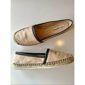 Karl Lagerfield | Espadrille slip on pink leather